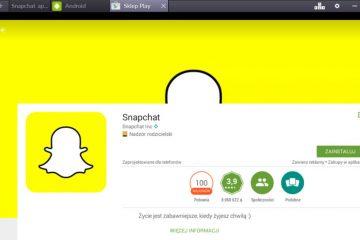 Snapchat sur ordinateur